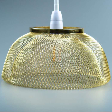 with bowl shape metal mesh